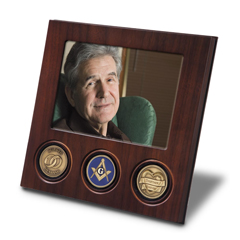 Picture of Man with 3 Medallions