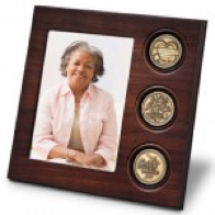 Picture of Woman with 3 Medallions